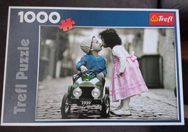 Puzzle Trefl 1000, dzieci