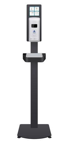 Dispensador de Alcool Gel Automatico suporte de chao oferta 5 lts Gel