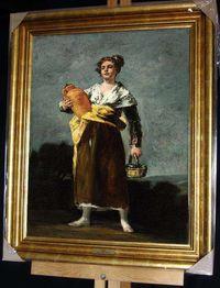 Goya The water carrier quadro repro. em tela