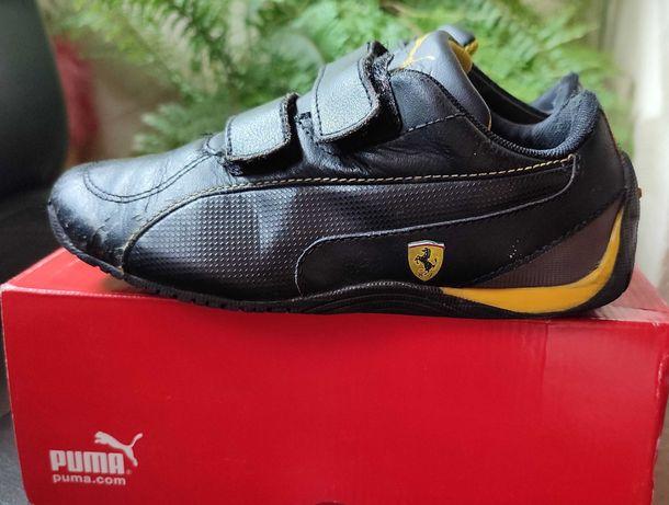 Кожаные кроссовки puma ferrari размер 30 31 стелька 18.5 - 19.5