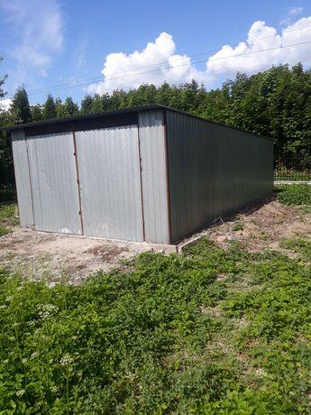 Garaż blaszany 4x6 z kanałem wynajmę Radogoszcz ul.Sikorskiego
