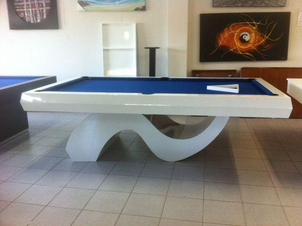 Bilhar - Mesa de Bilhar - Snooker I Azul Branco