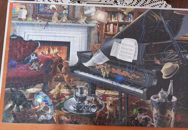 Puzzle 1000 Corner Piece
