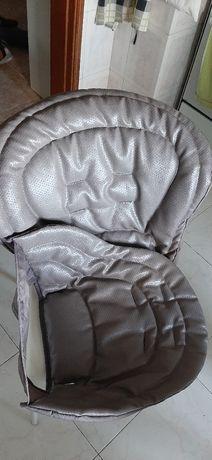 Cinto e Forros Cadeira Refeição chicco Polly Usado Cinto Cadeira e Ovo
