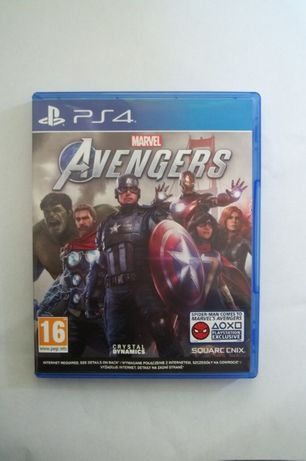PS 4 Marvel Avengers Centrum Gier Grodzka 4