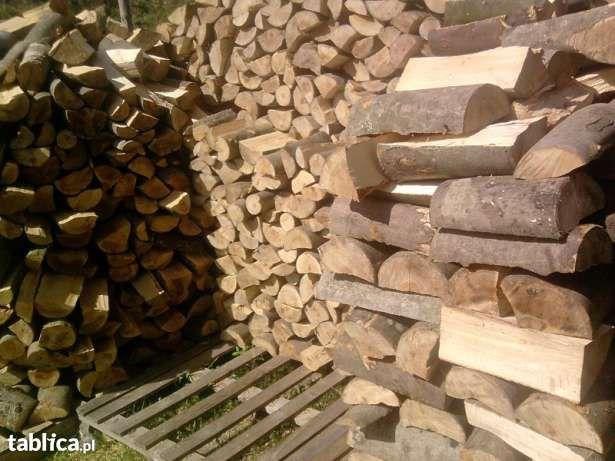 Drewno kominkowe,opałowe ładne grube polana !