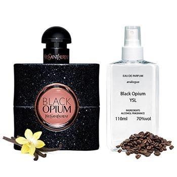 Black Opium супер стойкие ив сен лоран блек опиум