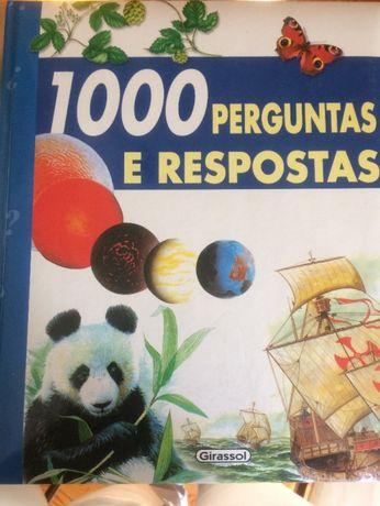 1000 perguntas e respostas livro infaltil e juvenil