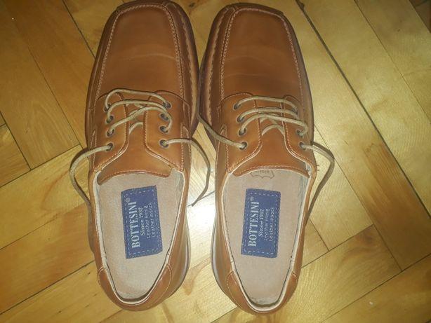 Продам мужские туфли.Новые.Кожа.