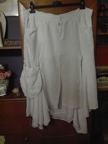 Sprzedam lnianą spódnice
