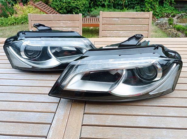 Lampy bi Xenon Nie Skrętny Led Audi a3 8p0 Lift Europa Hella komplet