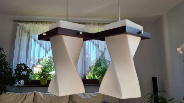 Lampa wisząca podwójna pokojowa kuchenna