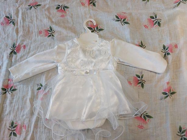 Платье для девочки 1-4 месяца