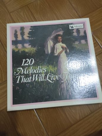 8 Discos LP's Vinil - 120 Melodies That Will Live Forever