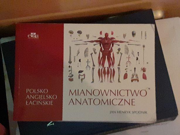 Mianownictwo anatomiczne Jan Henryk Spodnik