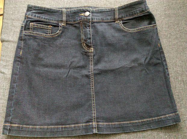 Jeansowa spódniczka rozm 38 mini camaieu