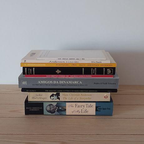 Livros de Hans Christian Andersen - Vendo à unidade