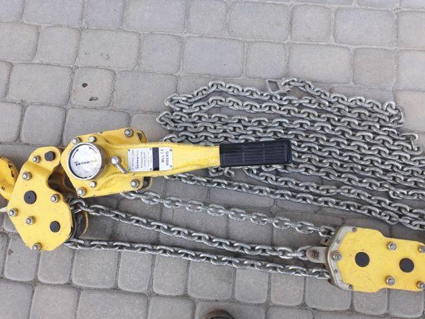 Wyciągarka łańcuchowa profesjonalna KIFOR 9 Ton z Niemiec