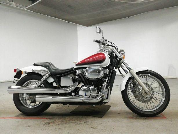Мотоцикл Honda Shadow Slasher 400, в пути, малый пробег, документы