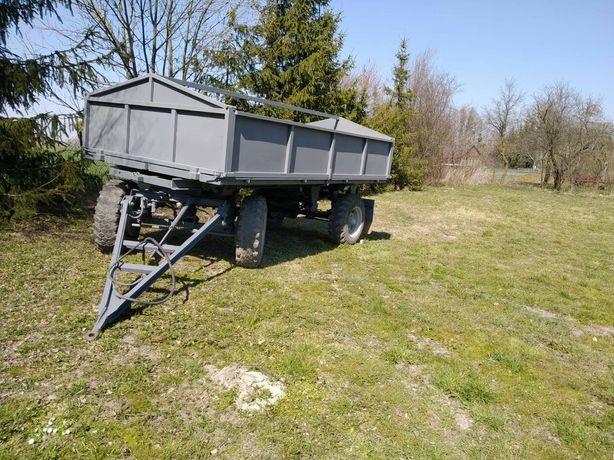Przyczepa rolnicza HL 6011 wywrot dwustronny