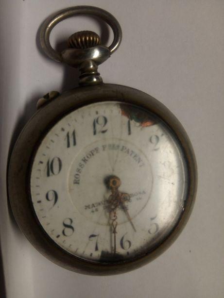 Antigo relógio de bolso Rosskopf freres Patente Manuel Barbosa
