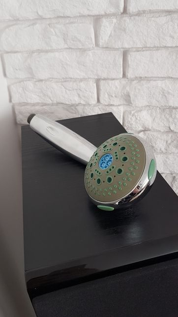 Słuchawka prysznicowa wielofunkcyjna antykamień NOWA + wąż