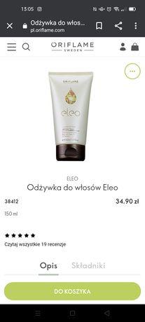 Odżywka do włosów Eleo połowę taniej! Oriflame