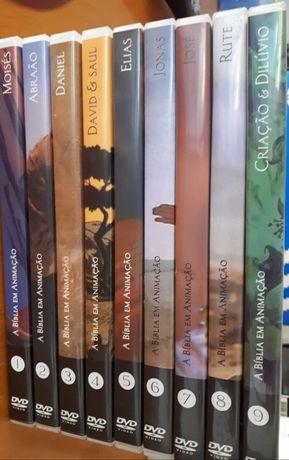 Dvd's Histórias do Antigo Testamento
