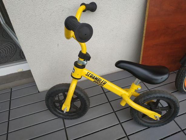 Rowerek biegowy Chicco żółty