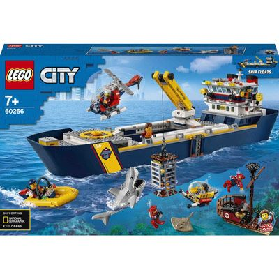 Конструктор LEGO City Океан: науково-дослідний корабель (60266)