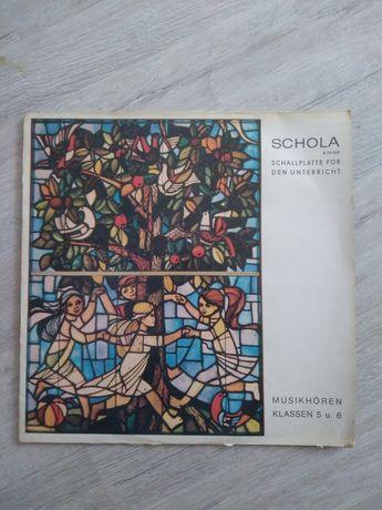Schola Musikhoren klassen 5 und 6. Winyl