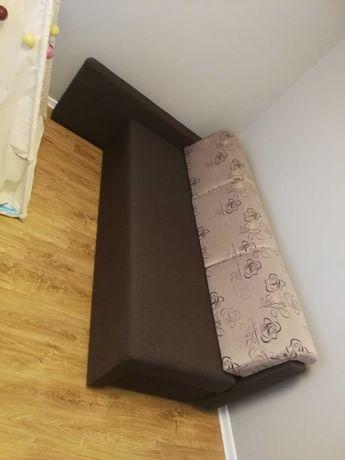 Narożnik kanapa z funkcją spania + 2 fotele
