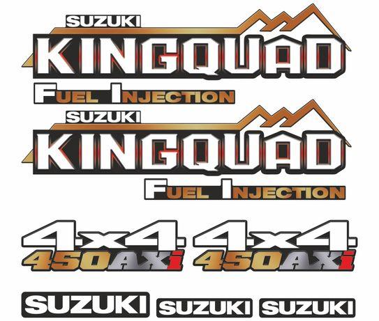 Naklejki na quada SUZUKI kingquad różne wzory