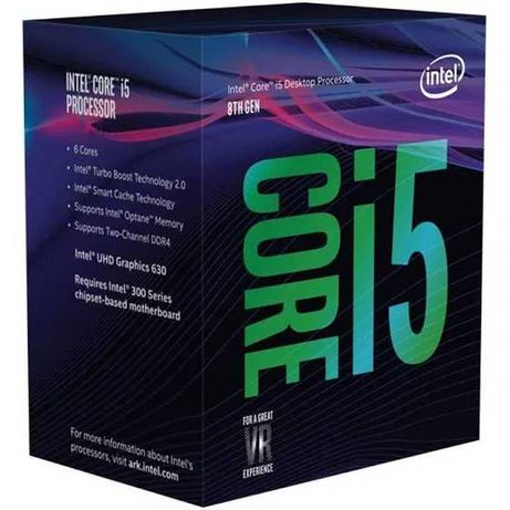 Intel Core I5 8400 2.80hz (3.90hz Boost)
