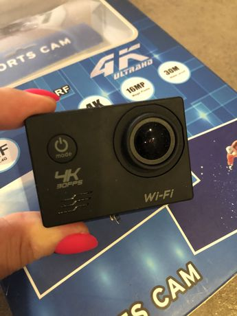 Видеокамера Sports Cam 4K Action Camera Ultra HD