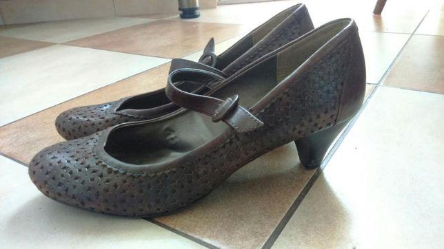 Buty damskie skórzane Tamaris
