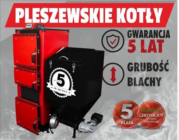 5 klasa Kocioł kotły piec na ekogroszek 20 KW 100% żeliwny podajnik