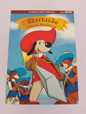 Para venda pack 6 DVDs Dartacão famosa série
