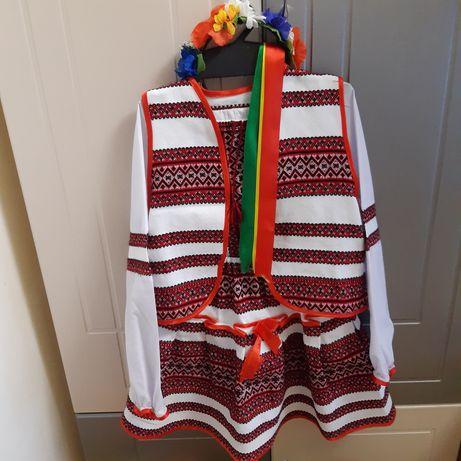Украинский костюм 3 в 1 + обруч