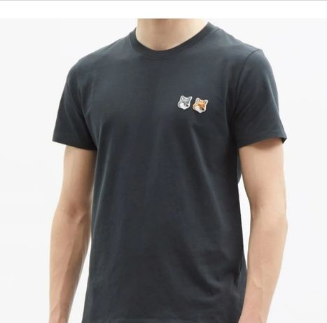 Último preço*T-shirt Maison Kitsuné Paris*100% algodão orgânico*XL