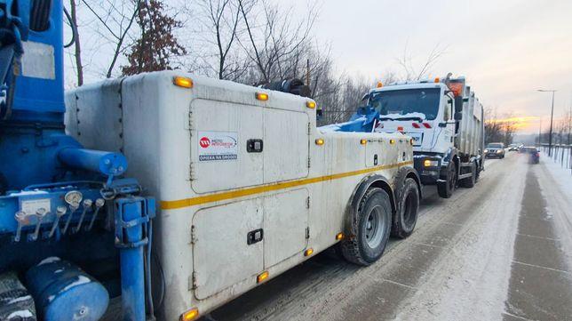 Holowanie TIR/BUS/osobowe 24H/Transport niskopodwoziowy/Pomoc Drogowa