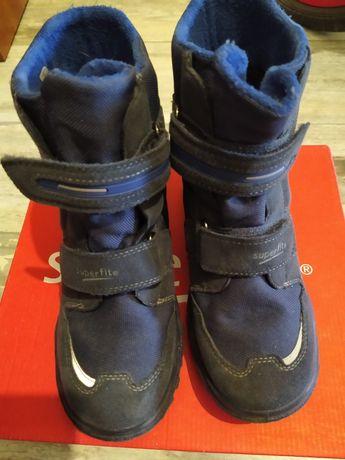 Ботинки суперфит для мальчиков 35 размер