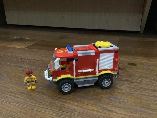 Lego 4208 пожарная машина