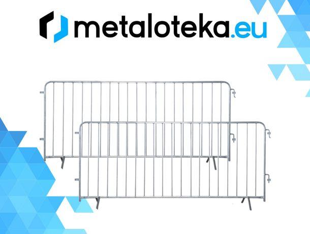 Bariera barierka ochronna ogrodzenia tymczasowe ogrodzenie budowlane