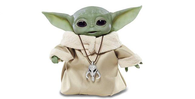Star Wars-Baby Yoda Animatronic Hasbro - NOVO EM CAIXA - 25 cm