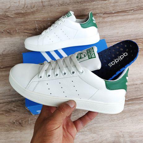 Подростковые детские кроссовки Adidas Stan Smith Falcon Yung 34-41