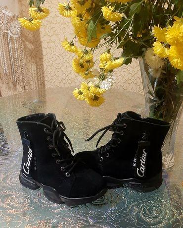 Зимние ботинки ERRA ! Натур.замша