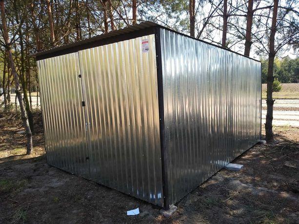 Garaż blaszany-3x5