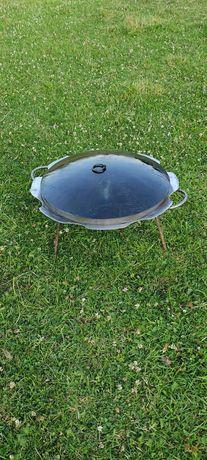 Сковорода 6мм Ромашка из/із диска борон.сковородка.пательня.жаровня.