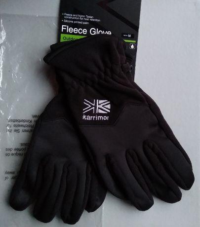 Мужские перчатки KARRIMOR FLEECE тёплые спортивные новые